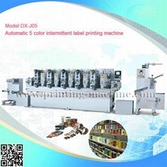 automatic label printing machine