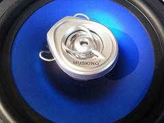 MUISKING汽车音响 TS-1628LL 6寸喇叭电镀蓝喇叭