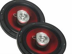 MUISKING汽車音響 TS-1628HH 6寸電鍍紅喇叭