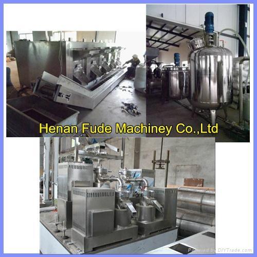 peanut butter processing line 500kg/h  1