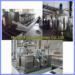 peanut butter processing line 500kg/h