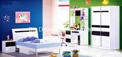 modern kids bedroom set