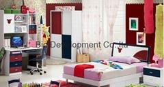 mdf slide wardrobe for modern kids bedroom set