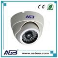 1.0 megapixel 720p water-proof ir cctv camera wall-mounted ahd dome camera