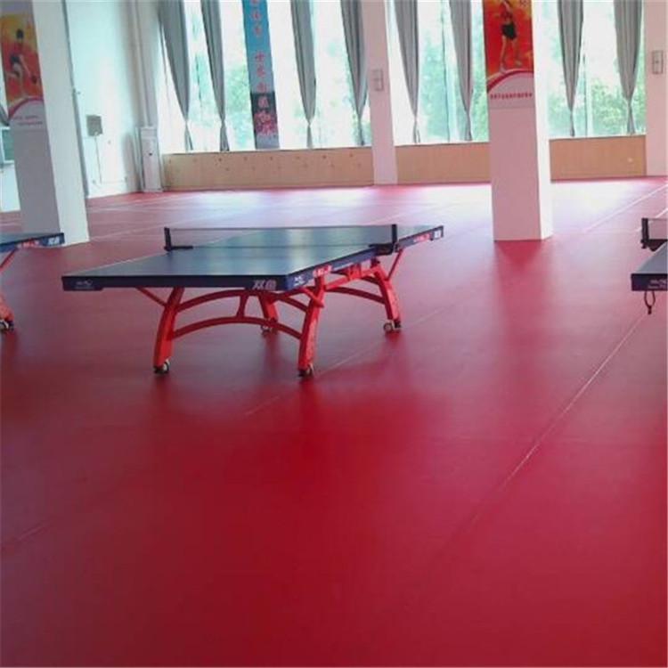 乒乓球場運動地板 1