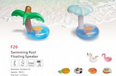 F26 Swimming Pool Floating Speaker IP67 Waterproof