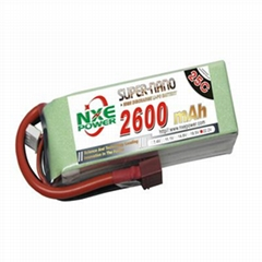 NXE2600mAh-25C-18.5V Softcase RC Helicopter Battery