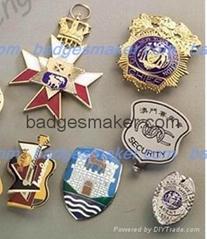 custom-made badge