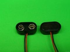 9V电池扣.9V硬扣