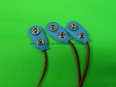 9V電池扣,9V軟皮扣,9V線扣