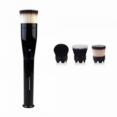 electric rotating cosmetic tools waterproof foundation makeup brush wholesale