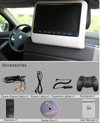 9 inch active headrest car dvd player