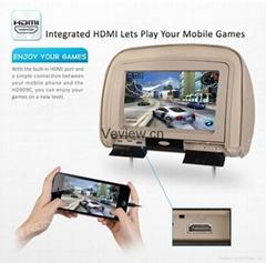 9 inch Headrest car dvd player