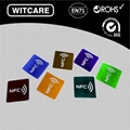 NFC Tags Stickers Ntag203 13.56Mhz for