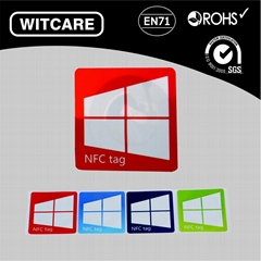 NFC Tag Stickers Ntag203 13.56Mhz for Samsung Galaxy S5 Note3 S4 Nokia Nexus4/1