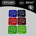 Ntag 203 13.56MHZ NFC TAG STICKER FOR