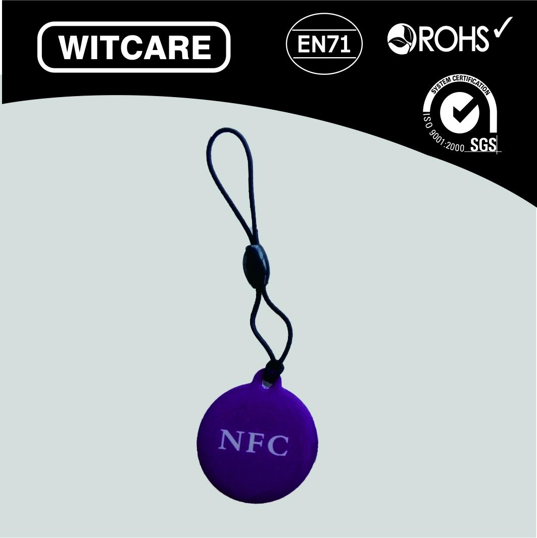 Ntag 203 13.56MHZ waterproof RFID Tag for all the Enabled NFC Mobile Device 4