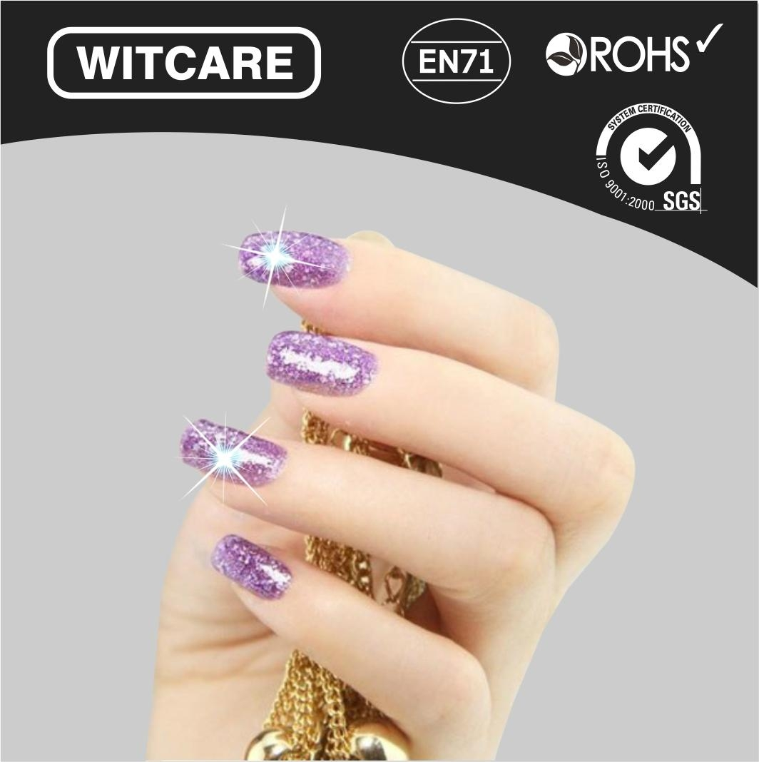 NFC Lumious Nail Stickers with LED Light Flash Affixed - China -