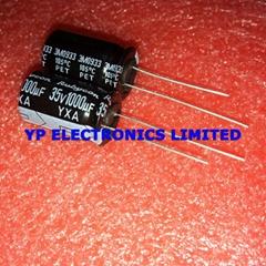 1000UF 35V 35V1000UF 12.5*20 Electronics capacitor 35V 1000UF 1000UF35V High fre