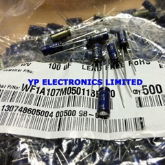 100uf 10v DIP capacitor 10v100uF 5*11.5 10v100uf 100uf10v for mother board Hospi