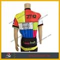 100% Polyester Custom Logo Cycling Shirt 2