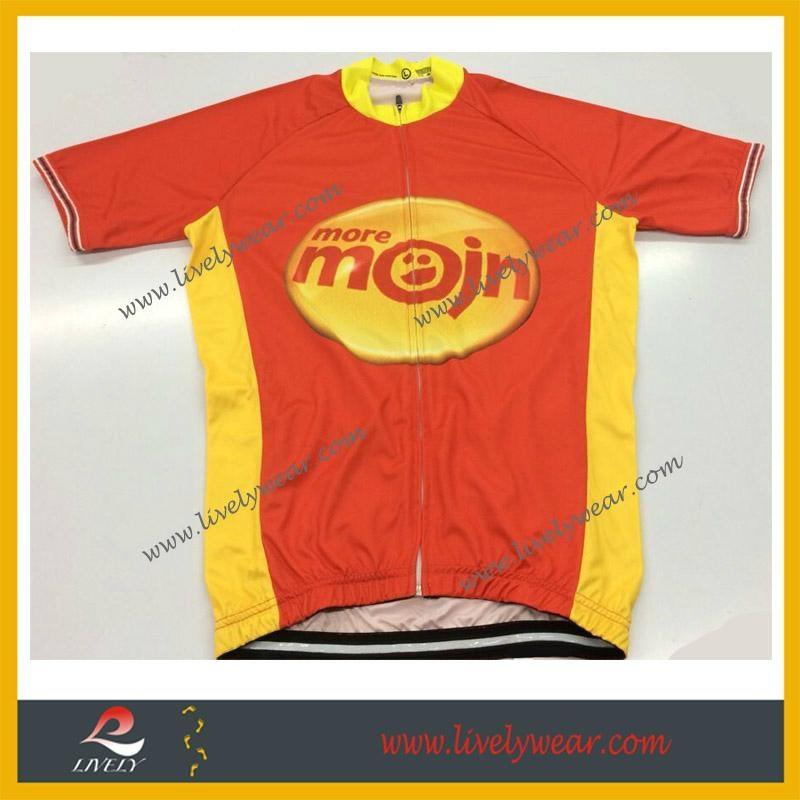 Sublimated Custom-made Wholesale Bicycle Shirts 1