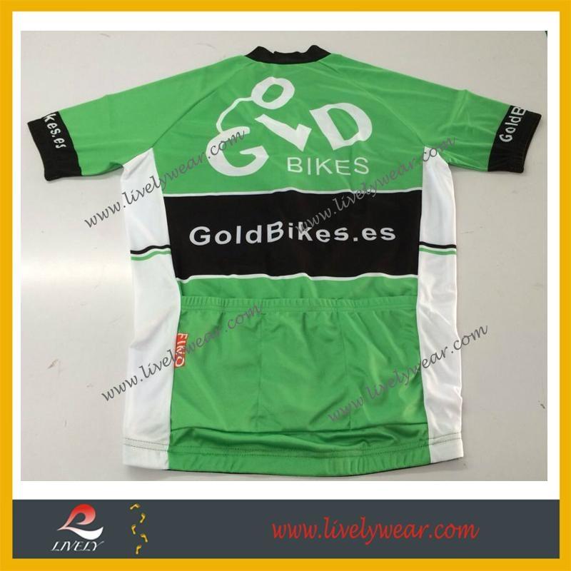 Sublimated Custom-made Wholesale Cycling Shirts 2