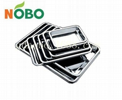 Stainless steel trays kitchenware