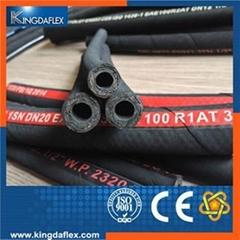 flexible hydraulic hifgh pressure rubber hose
