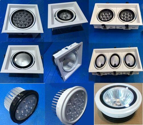 LED Ventured Lights Energy-saving grille lamp led downlight ceiling light 2