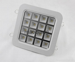 Square style LED Grille Light Cool Warm white