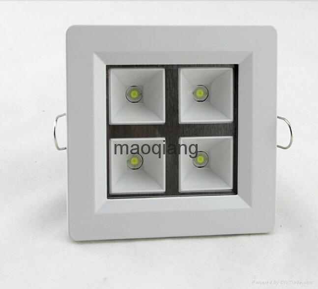 Square style LED Grille Light Cool Warm white 2