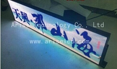 P6 taxi roof Advertising LED display P4 P5 P6