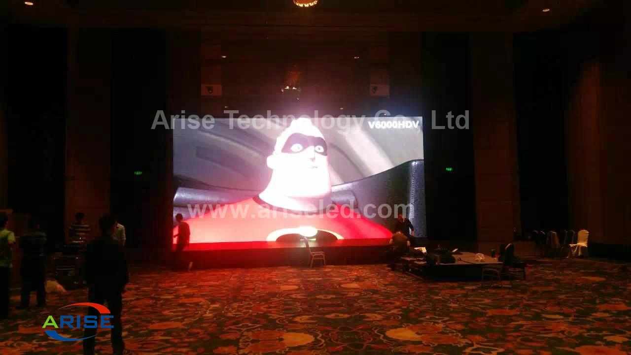 256*128mm SMD2121 P4 Indoor LED Display Screen  2