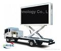 P5 P6 P8 P10 mobile truck led tv screen