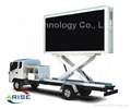P5 P6 P8 P10 mobile truck led tv screen commercial advertising led display/scree