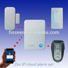 Android & IOS web alarm burglar alarm shenzhen Finseen IP cloud alarm