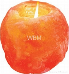 WBM-3002 Salt Ionic Natural Candle Holder