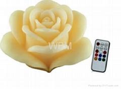 維必瑪 WBM-1210 玫瑰LED蠟燭