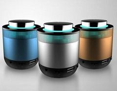 led light bluetooth mini portable speaker