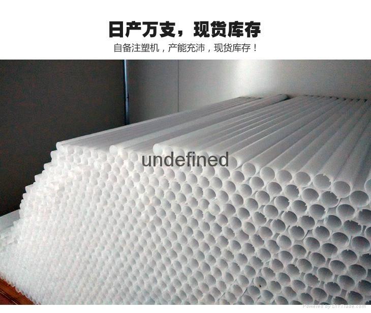 High Lumen 4ft T8 Nano Led Tube Light Wholly Plastic Housing