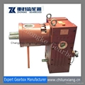 China new type SZL65 conical twin screw extruder gearboxes
