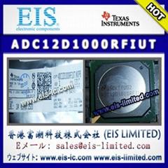 ADC12D1000RFIUT - TI - ADC12D1600/1000RF 12-Bit, 3.2/2.0 GSPS RF Sampling ADC
