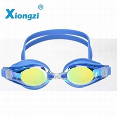excellent performance silicone coating swim goggles