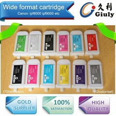 Refillable Ink Cartridge For Canon PFI-701, Canon IPF8000 IPF9000 8000S  9000s