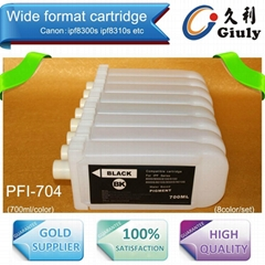 Refillable Ink Cartridge For Canon PFI-701  , for use on Canon IPF8010S,IPF9010S