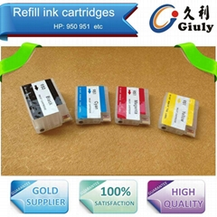 Refillable cartridge for HP6100/6600 compatible HP932/933
