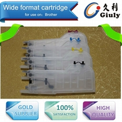 Refillable ink cartridge for Brother LC73,LC71, LC75,LC77,LC79,LC1220,LC1280