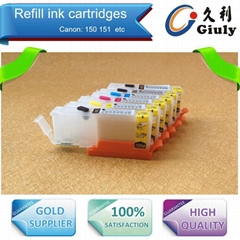 refill ink cartridge for Canon PGI-150 CLI-151 with ARC chips