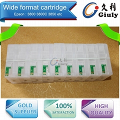 Refillable cartridge for Epson 3880 3850  3800 3800C
